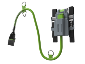 EGO ABH3000 harnas met kabel t.b.v. CSX3000